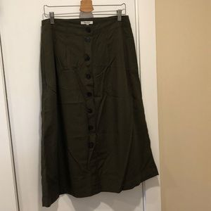 Madewell Patio Skirt NWOT